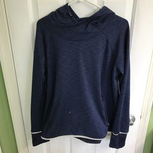 Navy blue hooded pull over from Gap Body. Size XL